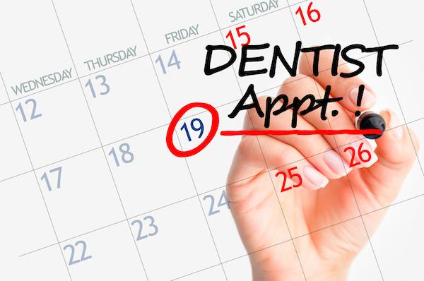 School calendars: plan your next dental appointment