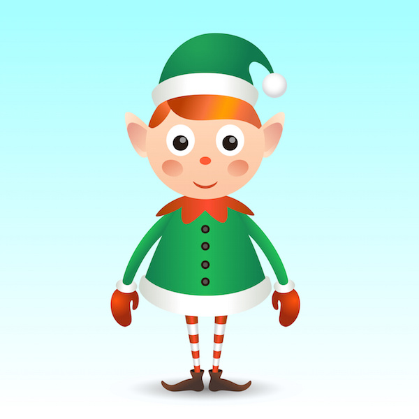 Christmas Dentist Elf.Christmas Elf