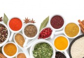 various spice selection