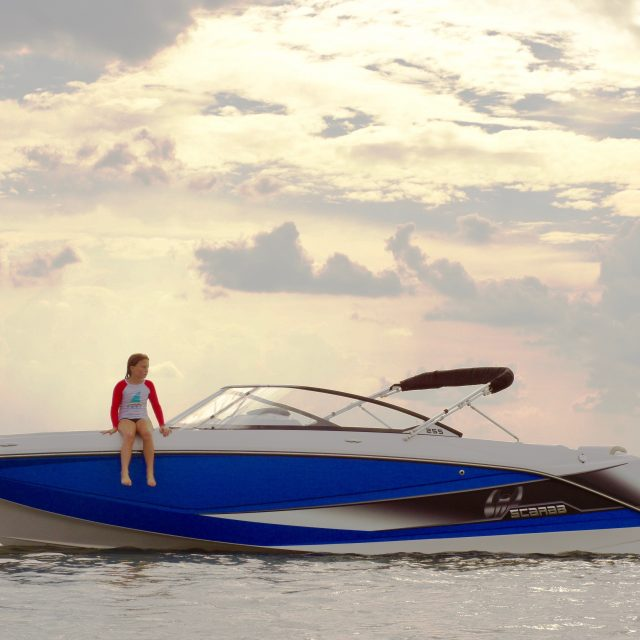 Scarab Boats Lifestyle Photography for Web & Social Media