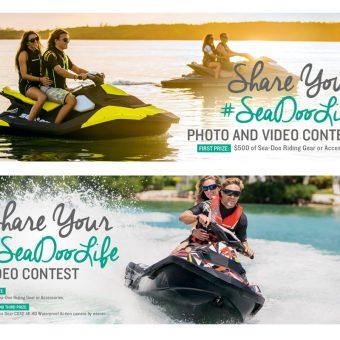 Sea-Doo Watercraft Social Contest