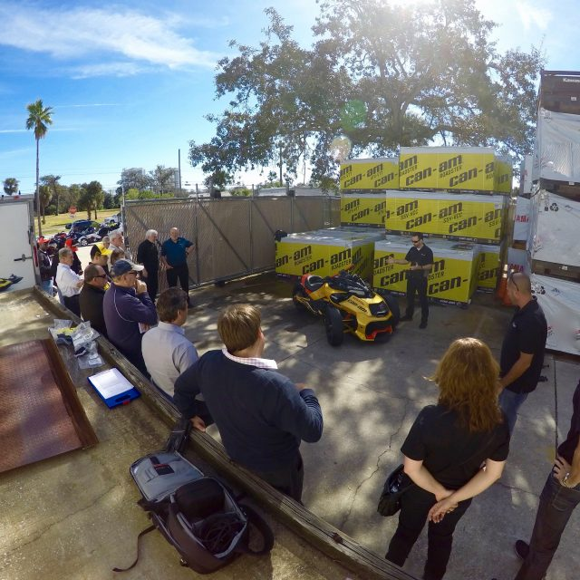 Can-AM Spyder Publicity Event