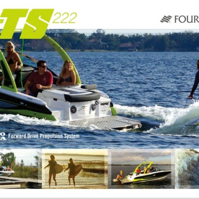 Press Event Coverage: Four Winns TS 222 Wakesurf Boat