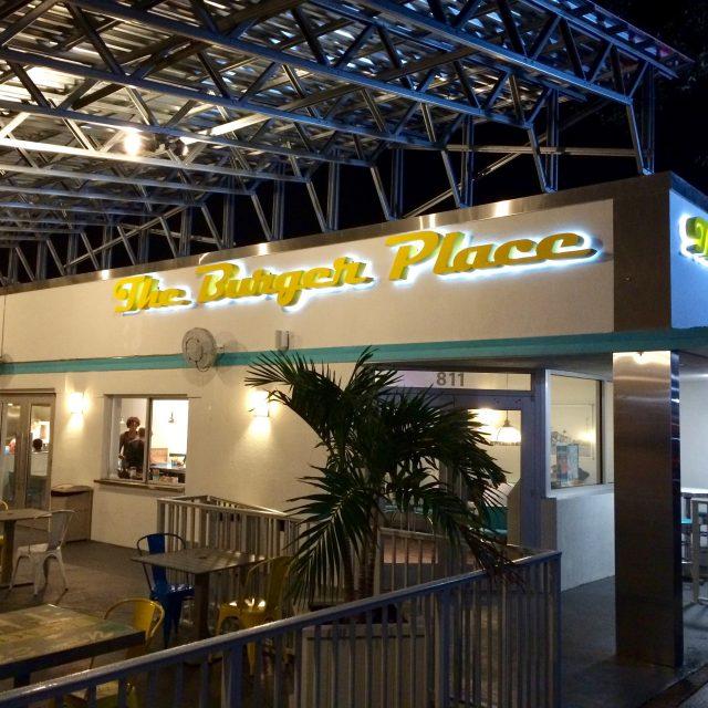 The Burger Place Restaurant Branding