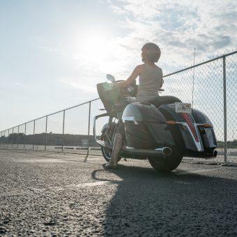 Motorcycle Photo Shoot - Arnott Motorcycle Air Suspension