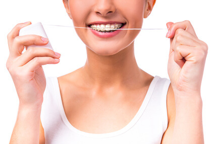 avoiding cavities with braces