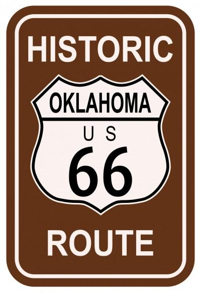historic route 66 in yukon ok