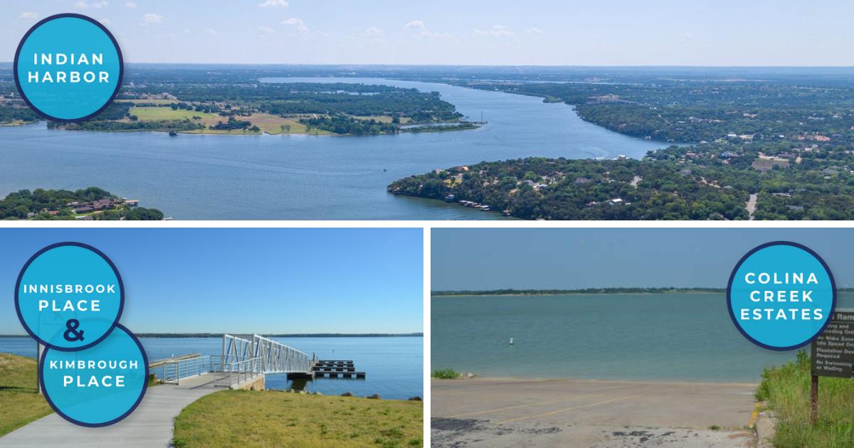 Indian Harbor, Innisbrook Place, Kimbrough Place, and Colina Creek Estates