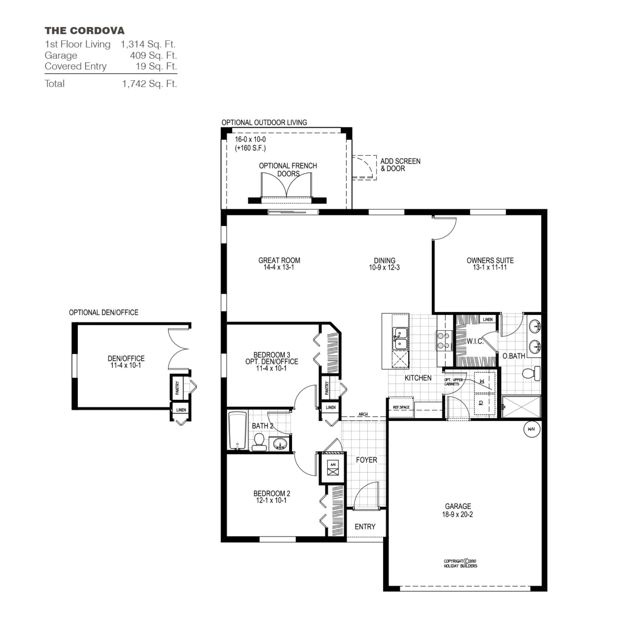 Fl Cordova B In Palm Garden Lakes Holiday Builders