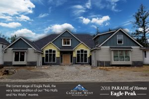 Parade of Homes 2018 Eagle Peak : Currently Under Construction