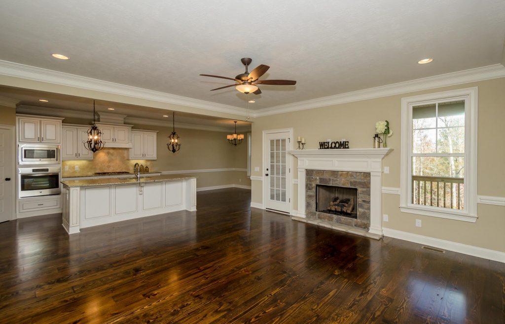 open floor plans, kitchens for entertaining, augusta kitchens