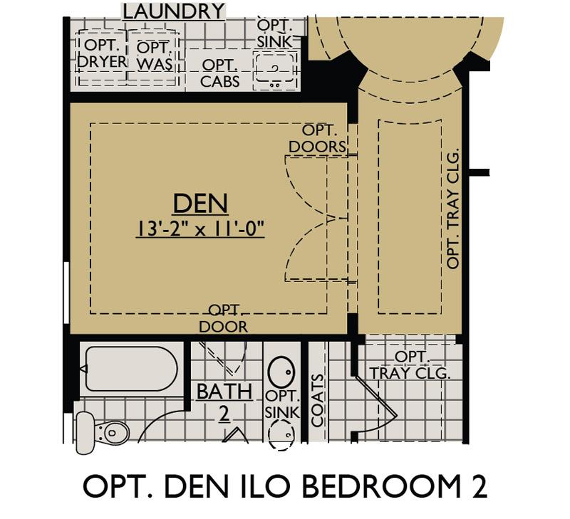 Jimson At Vistancia New Home Floor Plan William Ryan Homes