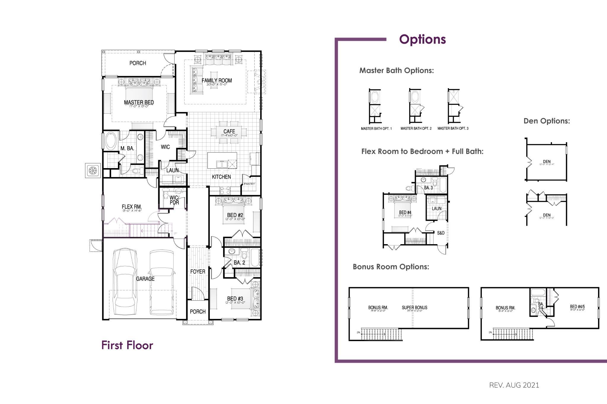 Alexander Floor Plan