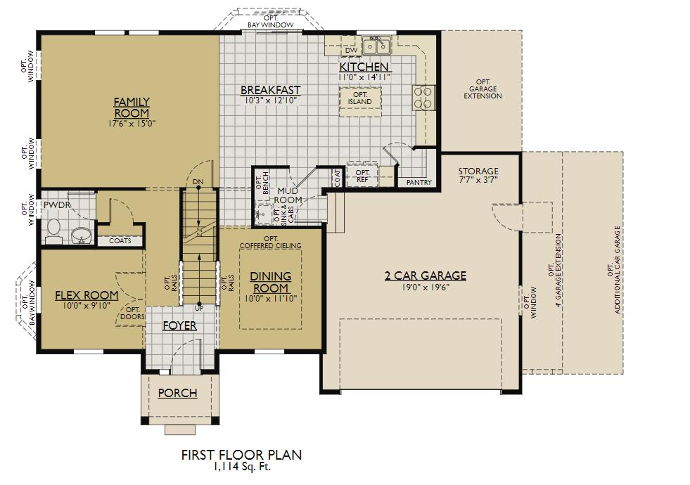 Stratford Homes Floor Plans: New Home Floor Plan