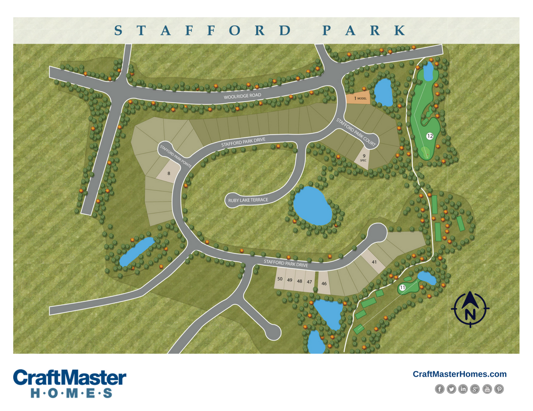 New Homes At Stafford Park In Magnolia Green Craftmaster