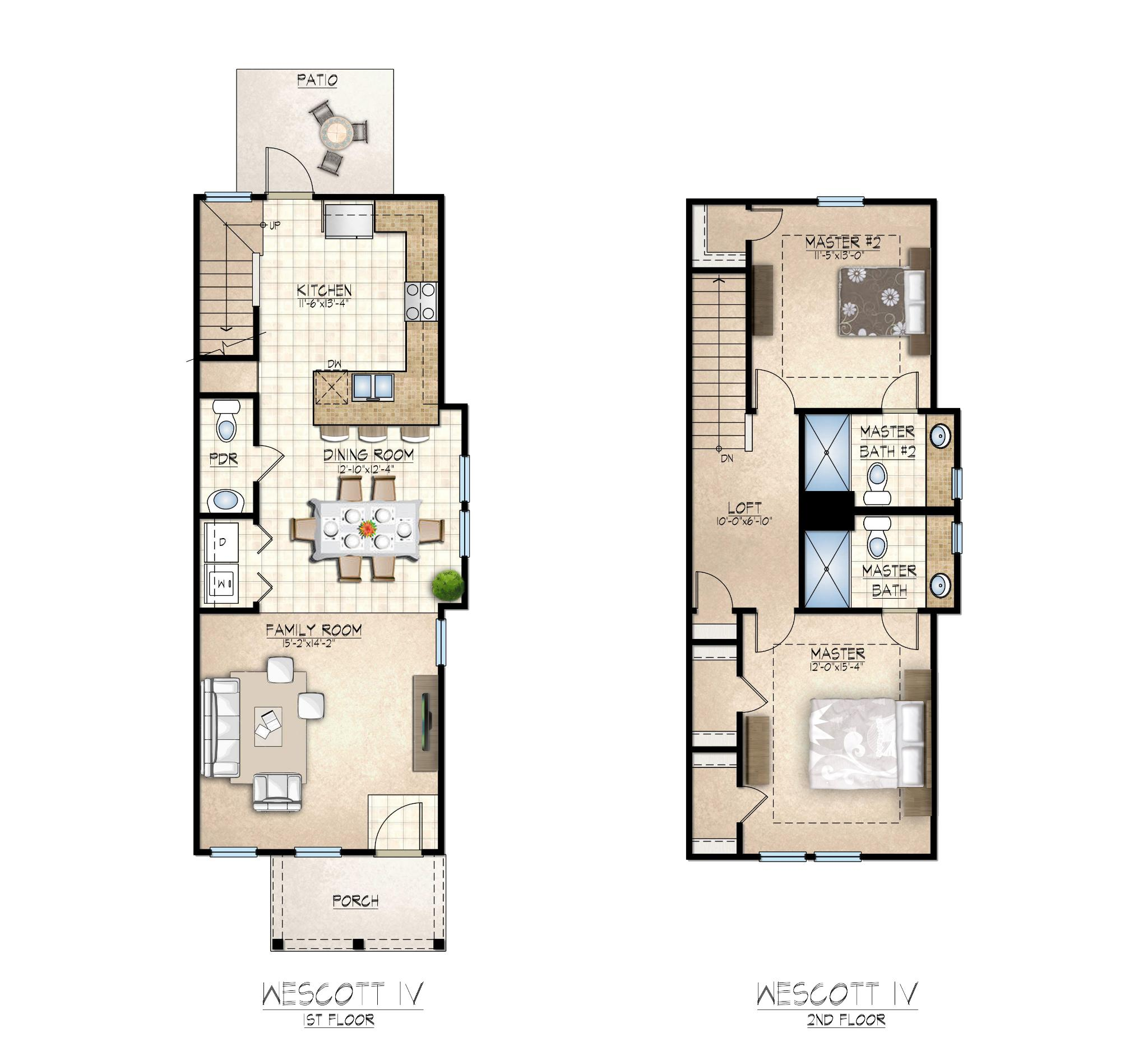 Wescott IV Floor Plan
