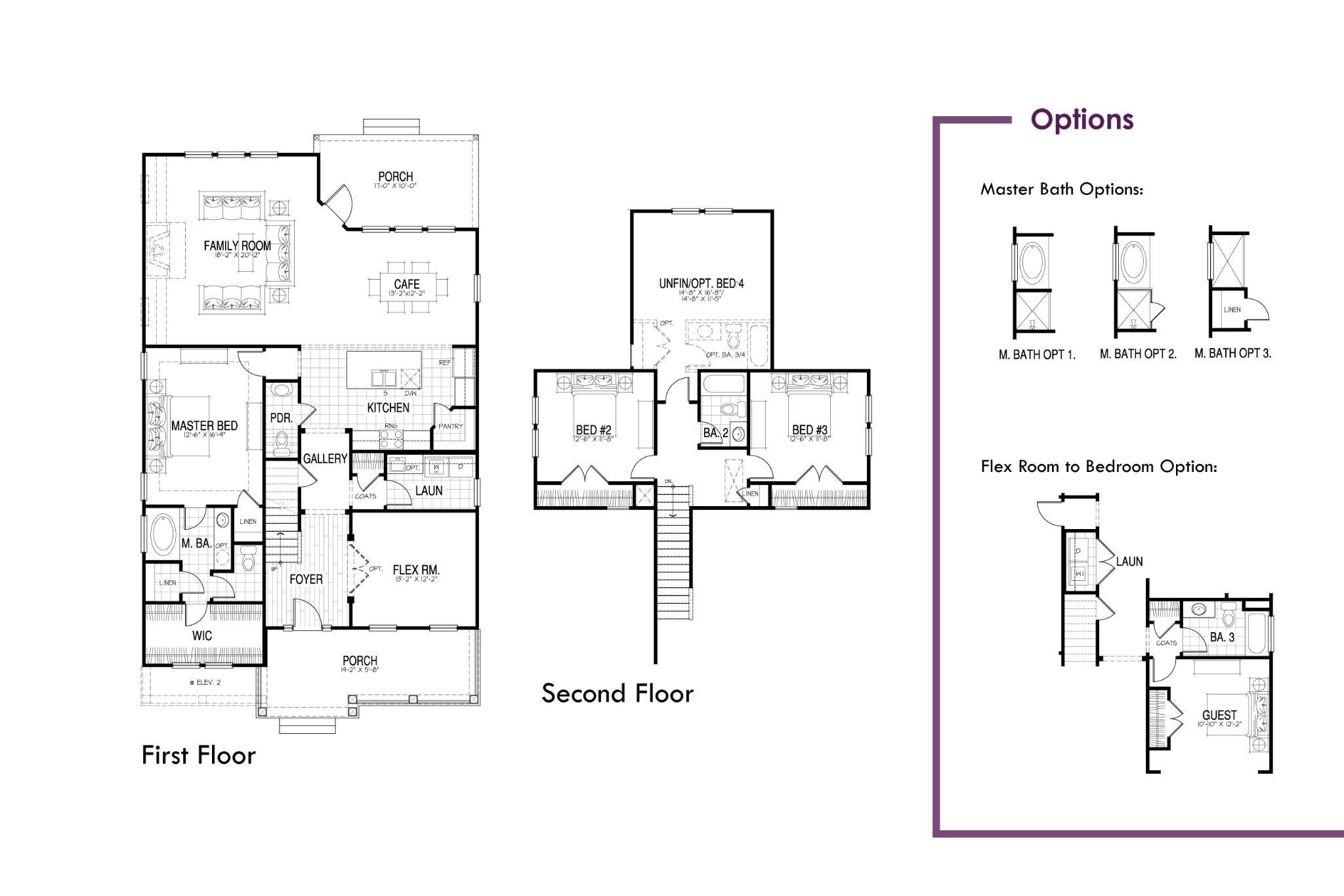 Rantowles Floor Plan