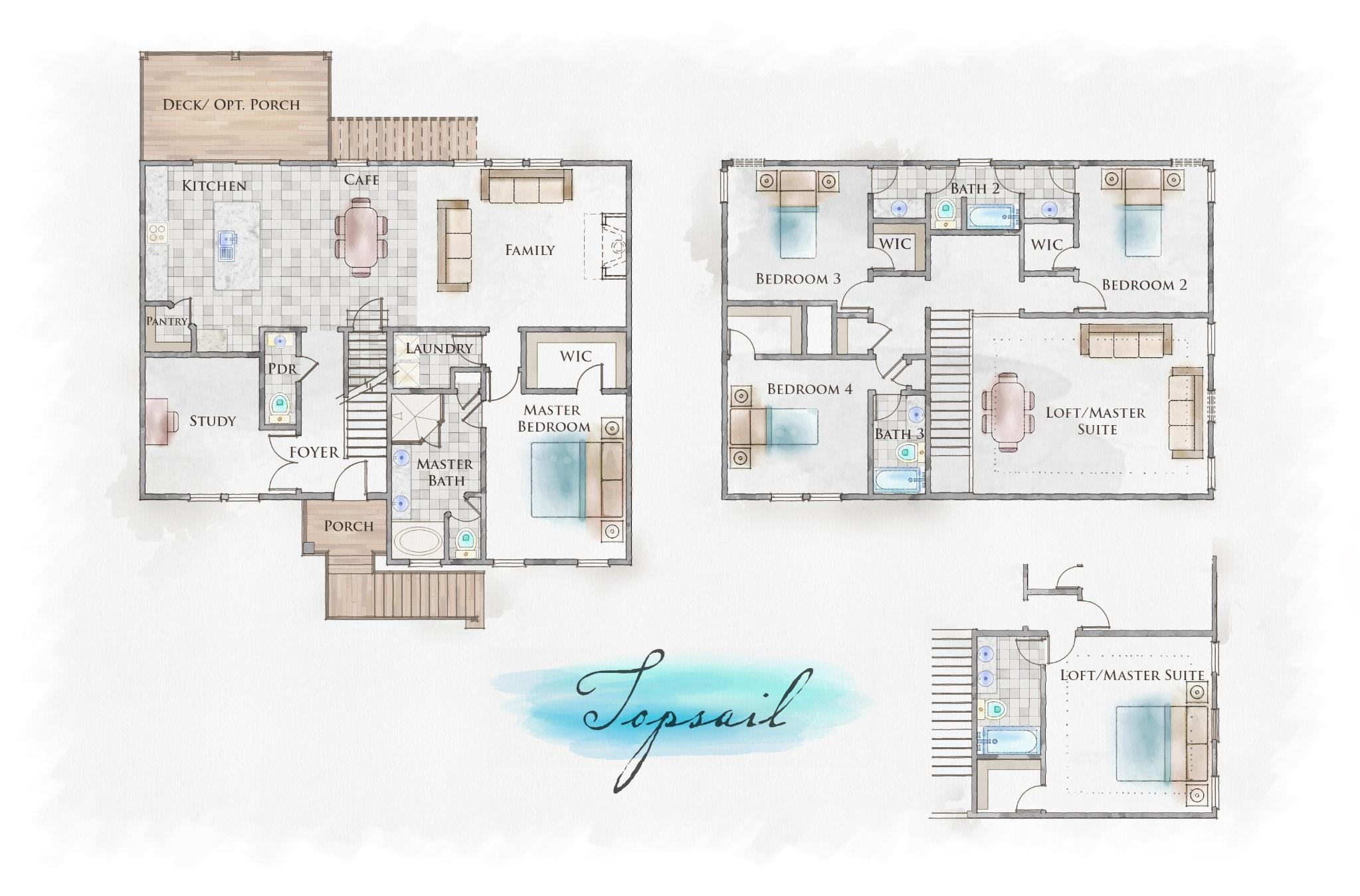 Topsail Floor Plan