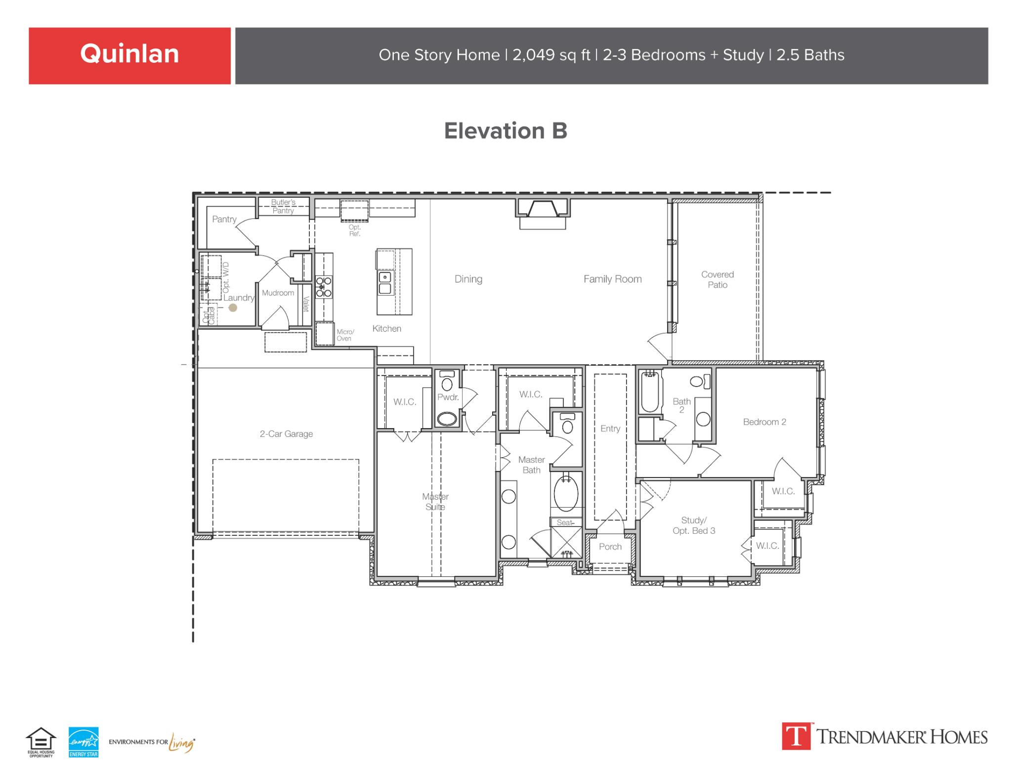 Quinlan B Floor Plan