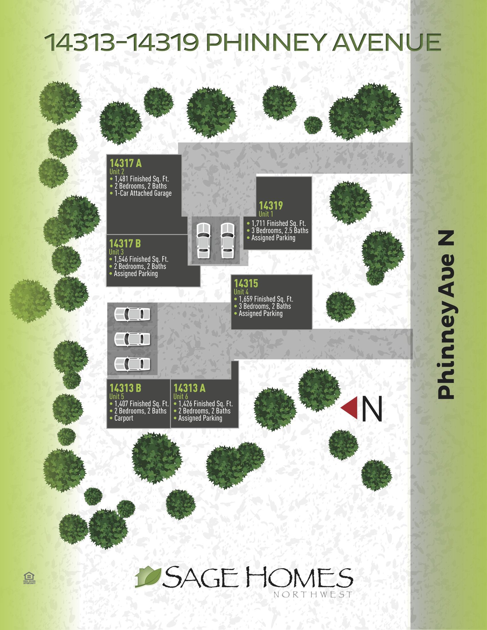 14315 Phinney Ave N - Greenwood Site Plan