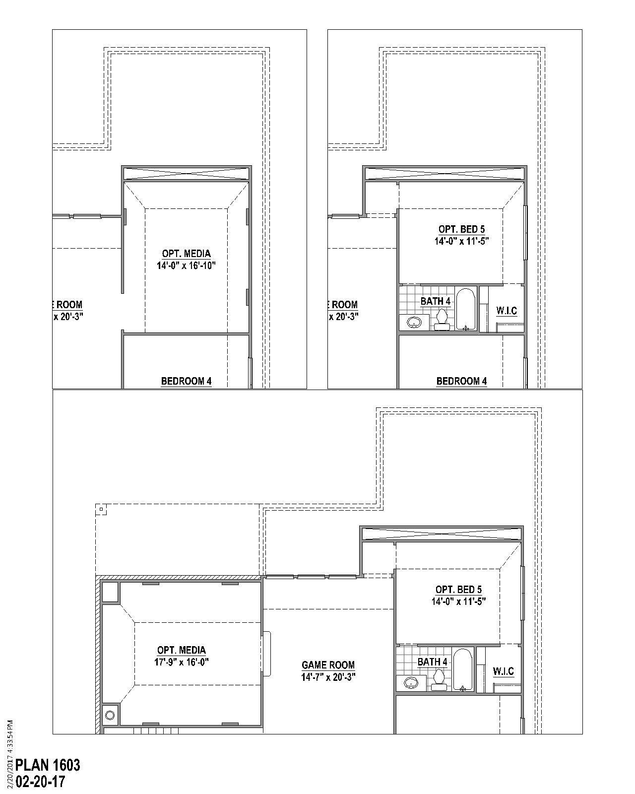 Plan 1603 Floor Plan American Legend Homes