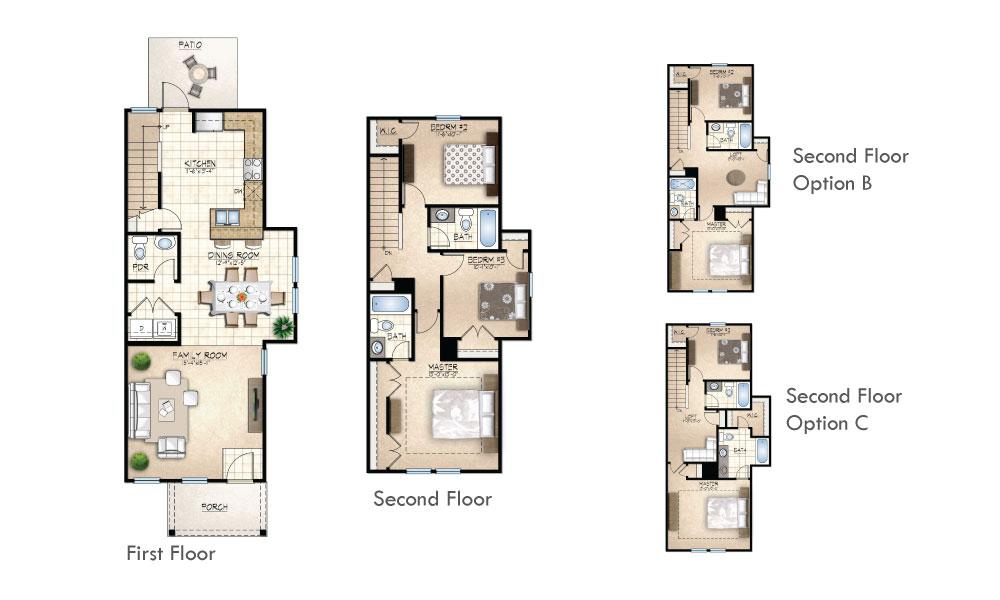 Wescott II Floor Plan