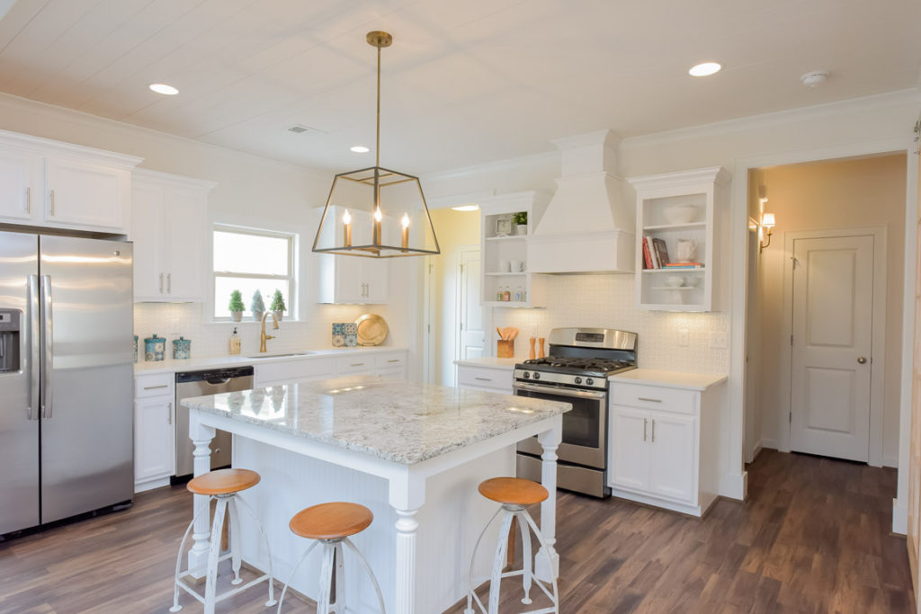 kitchen in a home at Keeneland Valley