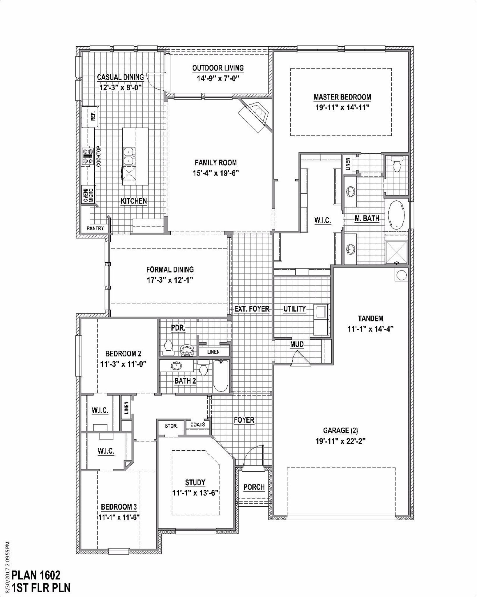 Plan 1602 Floor Plan
