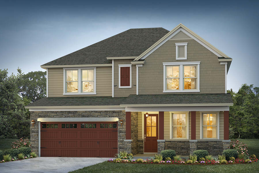 Belmont Elevation 2 Driftwood Color Package