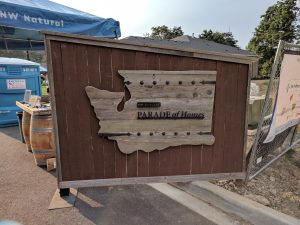The 40th Annual Clark County Parade of Homes - 2017 Sign Made By Timbr and Moss