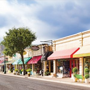 Downtown Boerne TX local shops
