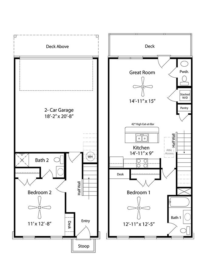 Kirksey Floor Plan Nashville New Home Regent Homes