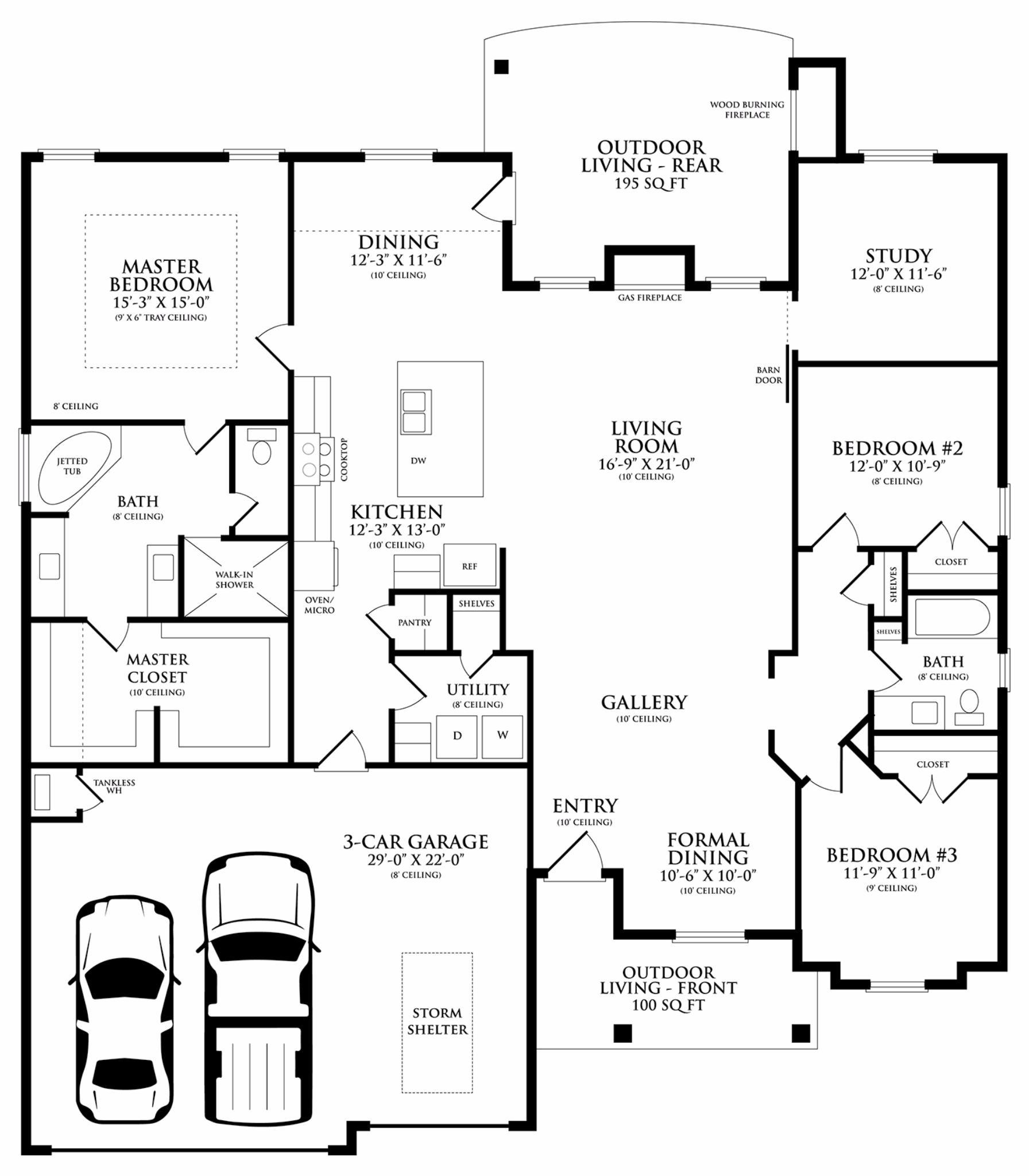 cornerstone floor plan homes by taber