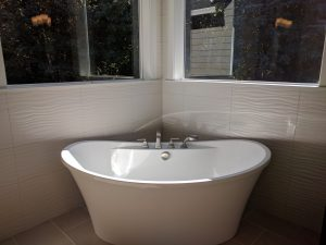 The Freestanding MAAX Tub from The Master Bath in The Genesis!