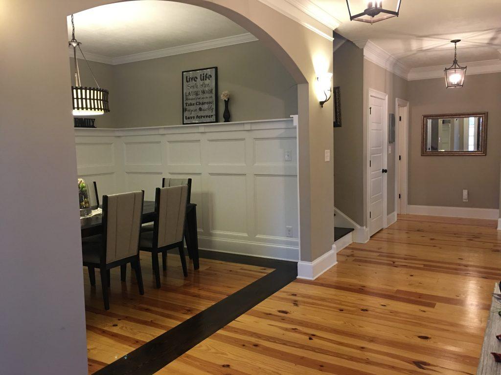 Dining room open floor plan, floor plans for entertaining, augusta floor plans