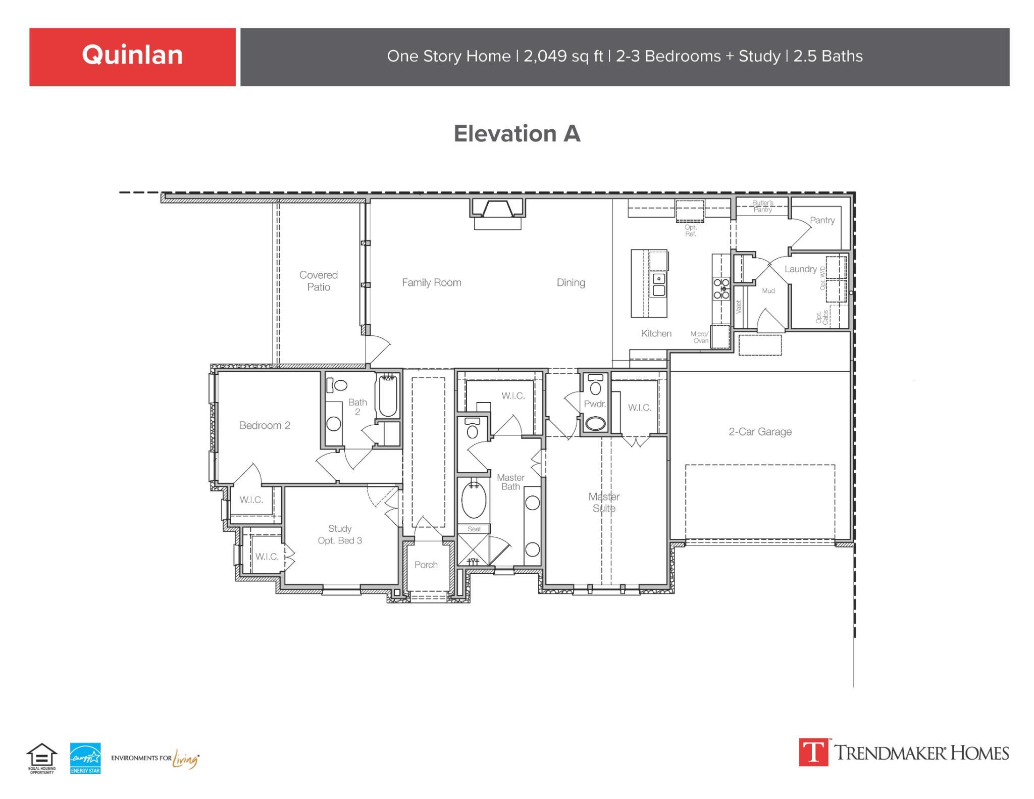 Quinlan A Floor Plan