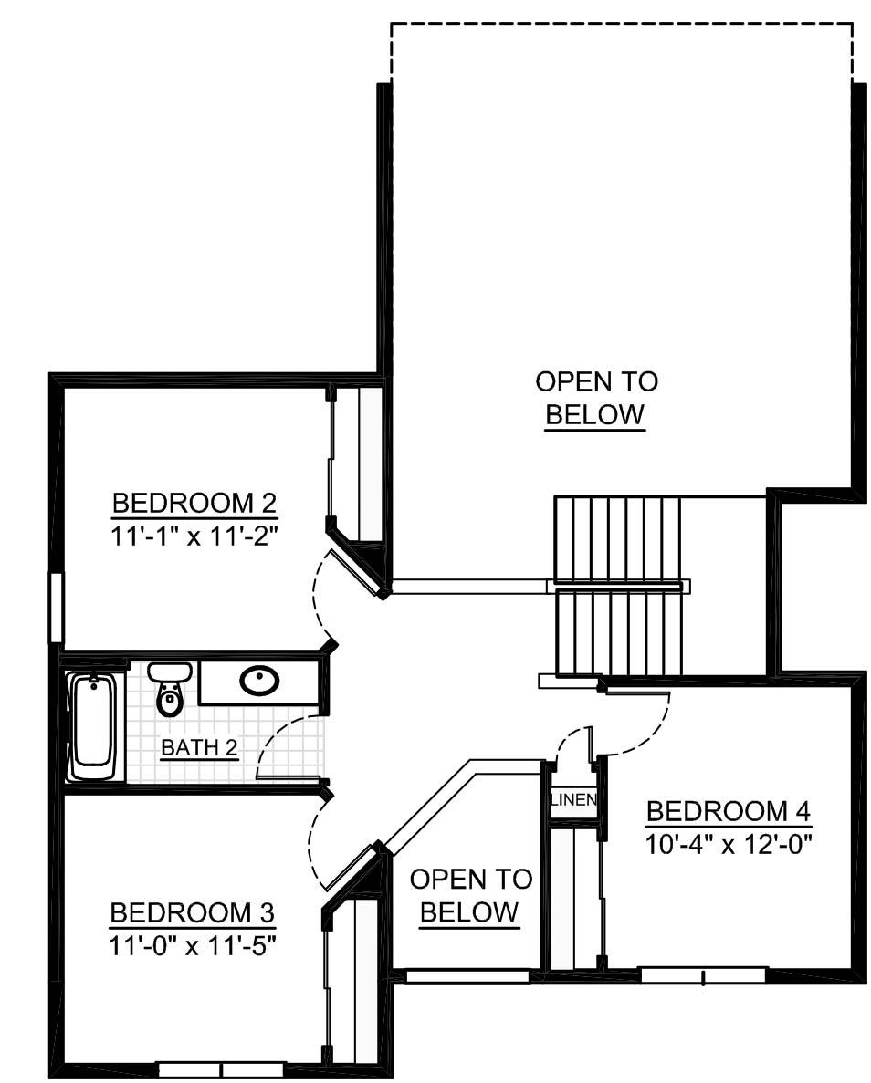 2584 Hunters Ridge: Essex Second Floor