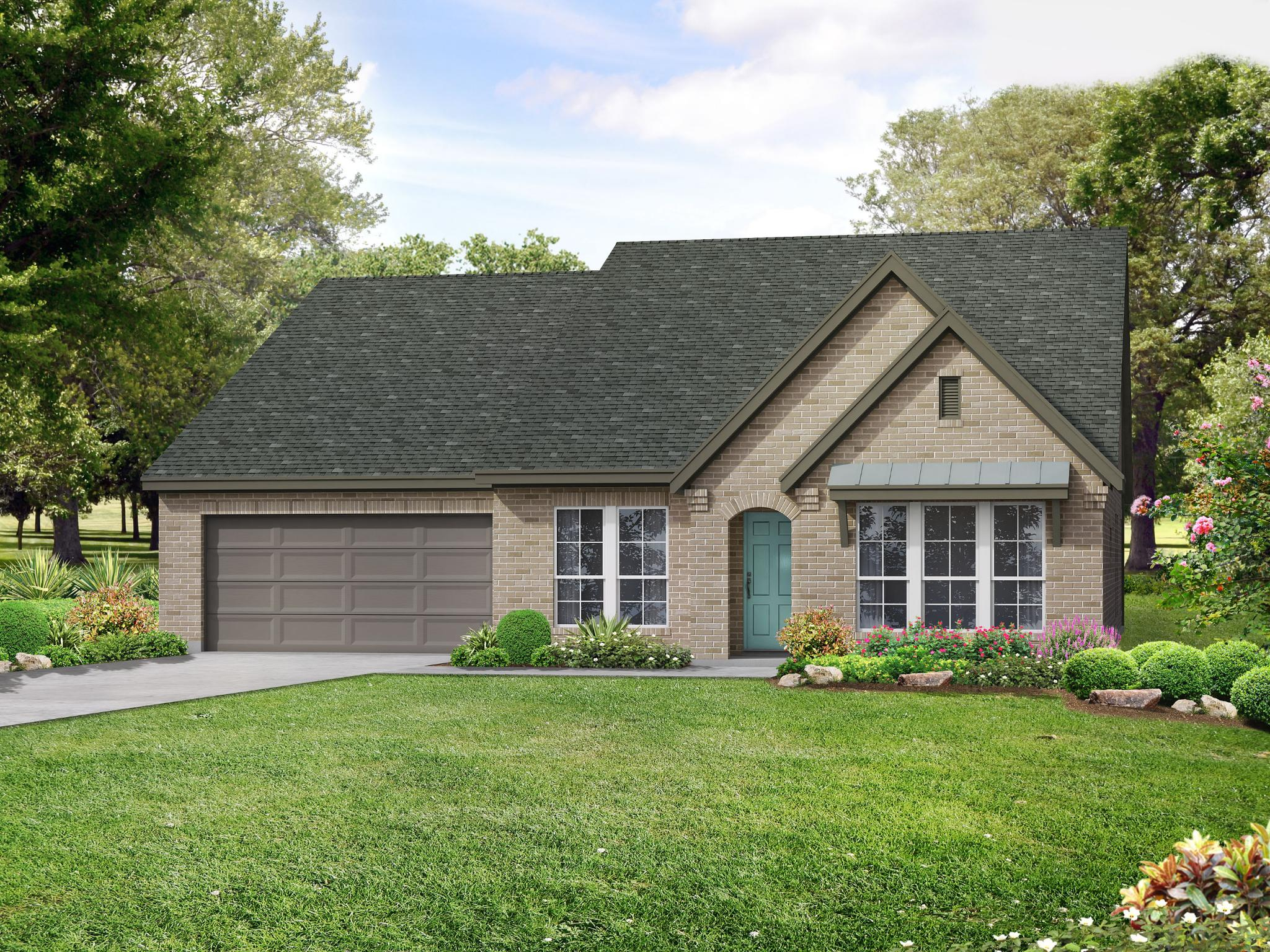 The Ansley Floor Plan: The Ansley A With Bonus House Plan In The Meadows
