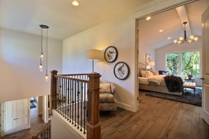 Upstairs Landing and Master Bedroom