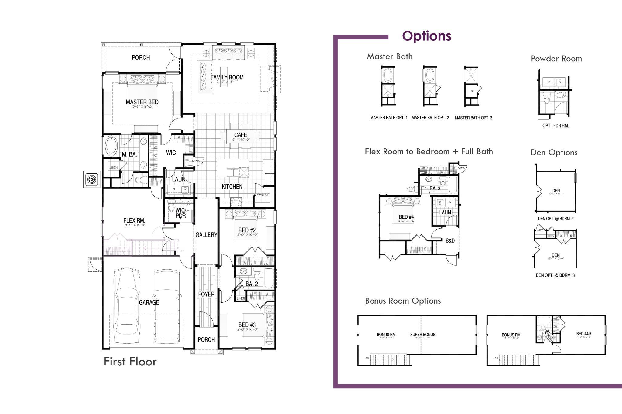 Pimlico Floor Plan