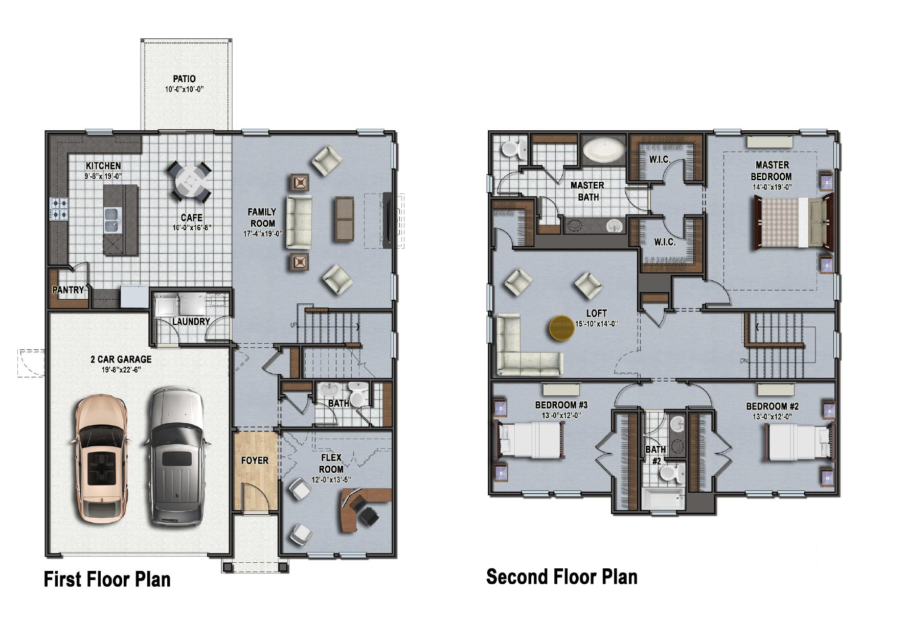 Greenwood Floor Plan