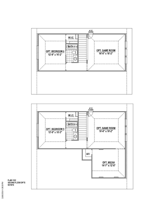 Plan 1122 Floor Plan