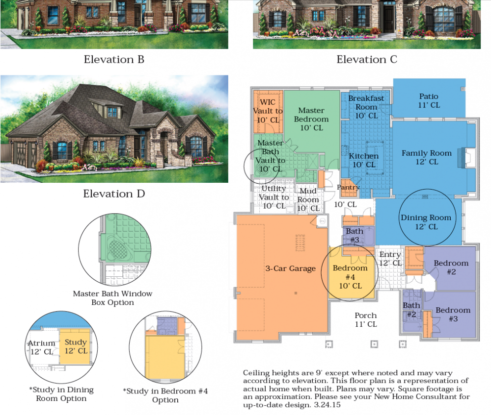 home builders in Moore Oklahoma, Ideal Homes presents this latest floor plan.