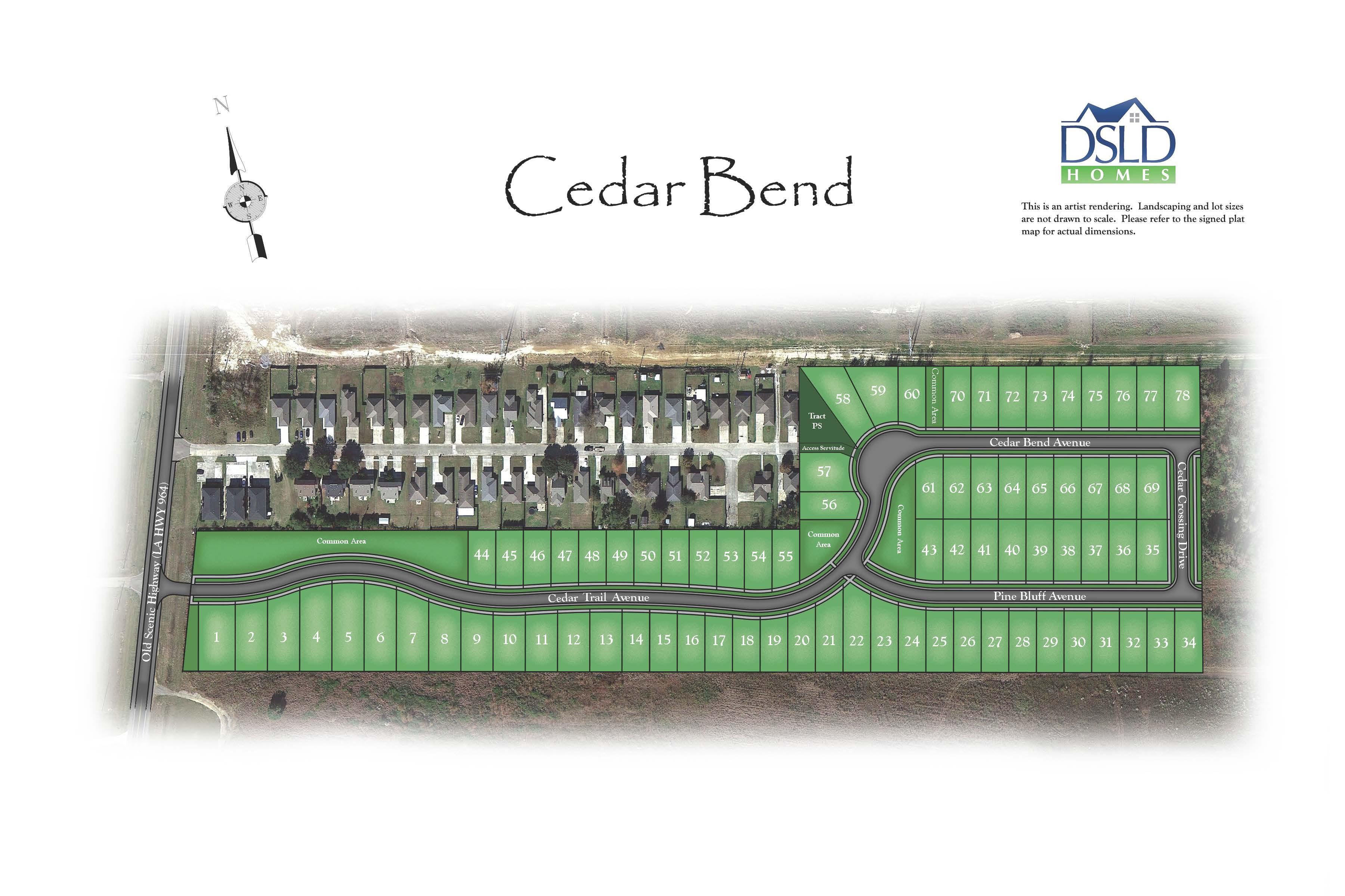 Cedar Bend DSLD Homes
