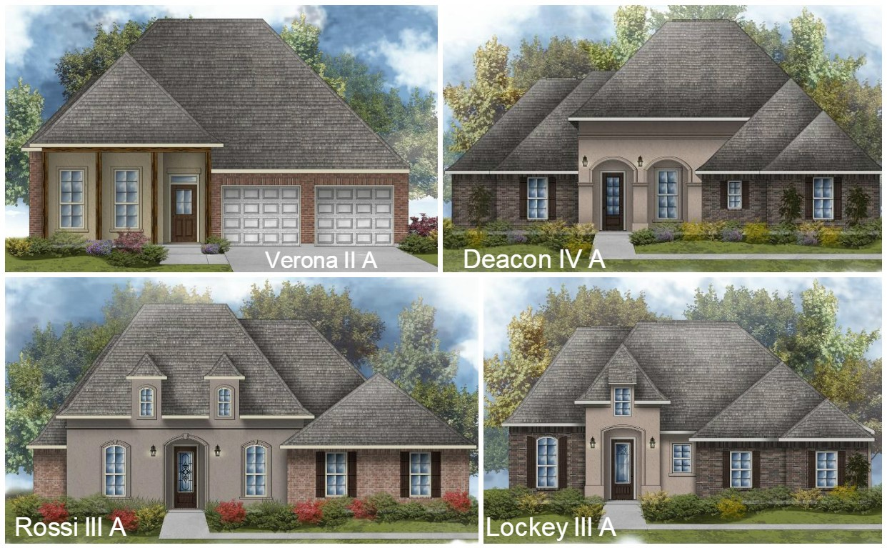 Community spotlight blog dsld homes for House plans covington la