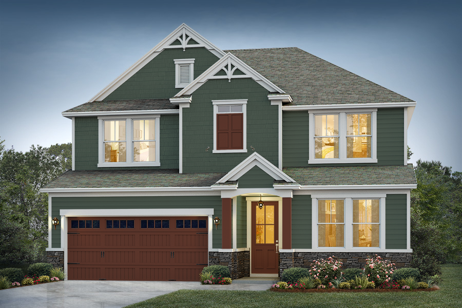 Church Hill Elevation 2 Greenbrooke Color Package