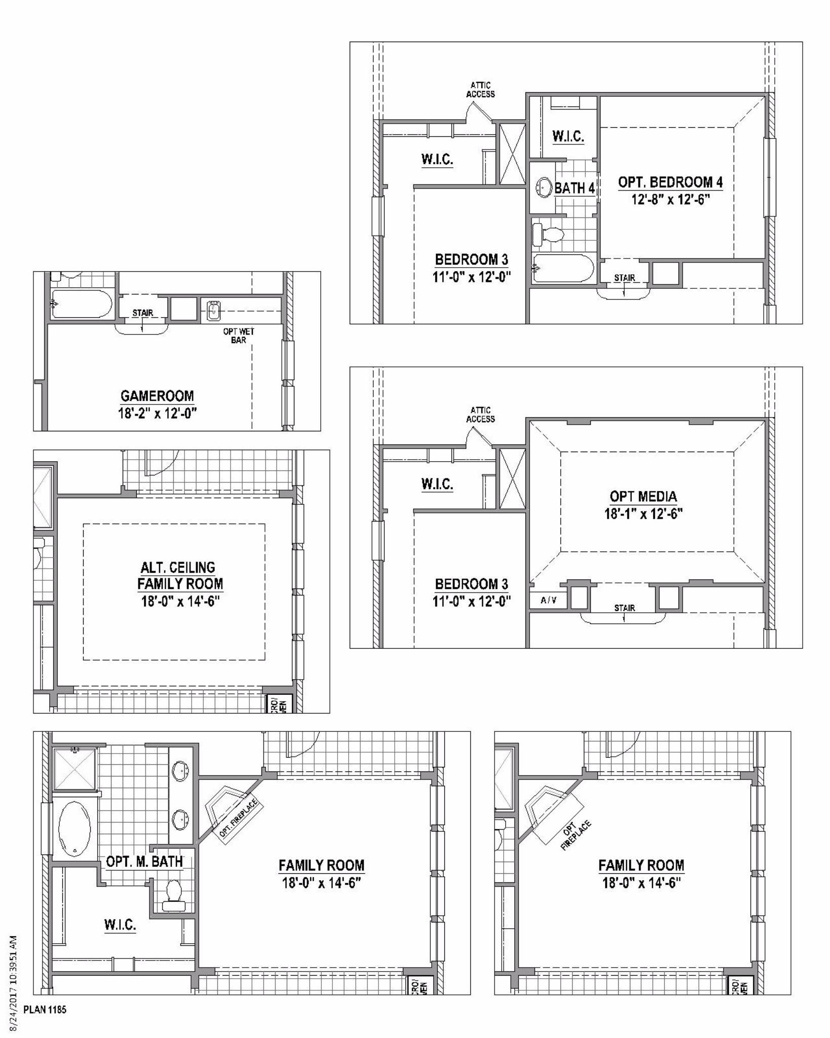 Plan 1185 Floor Plan