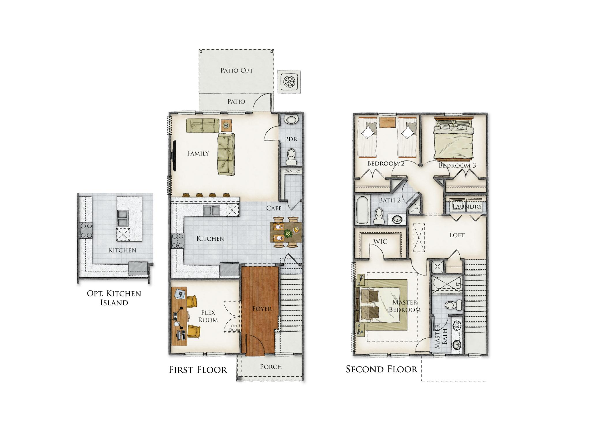 Olive Branch Floor Plan