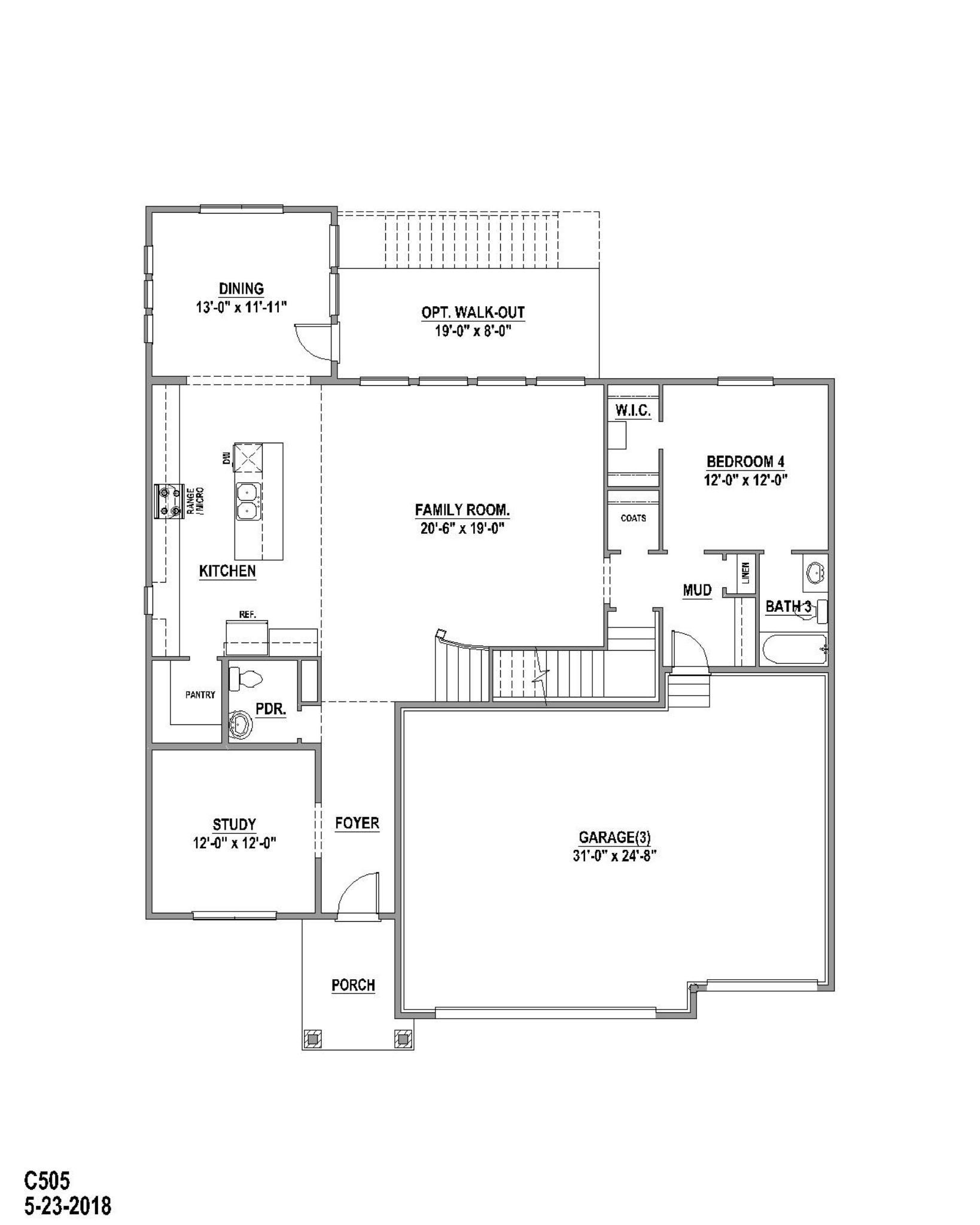 Plan C505 Floor Plan