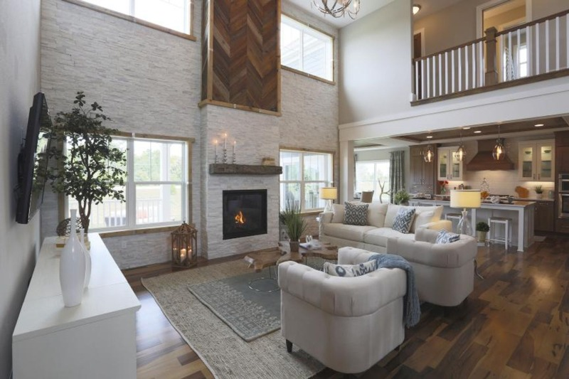 Madison parade home great room